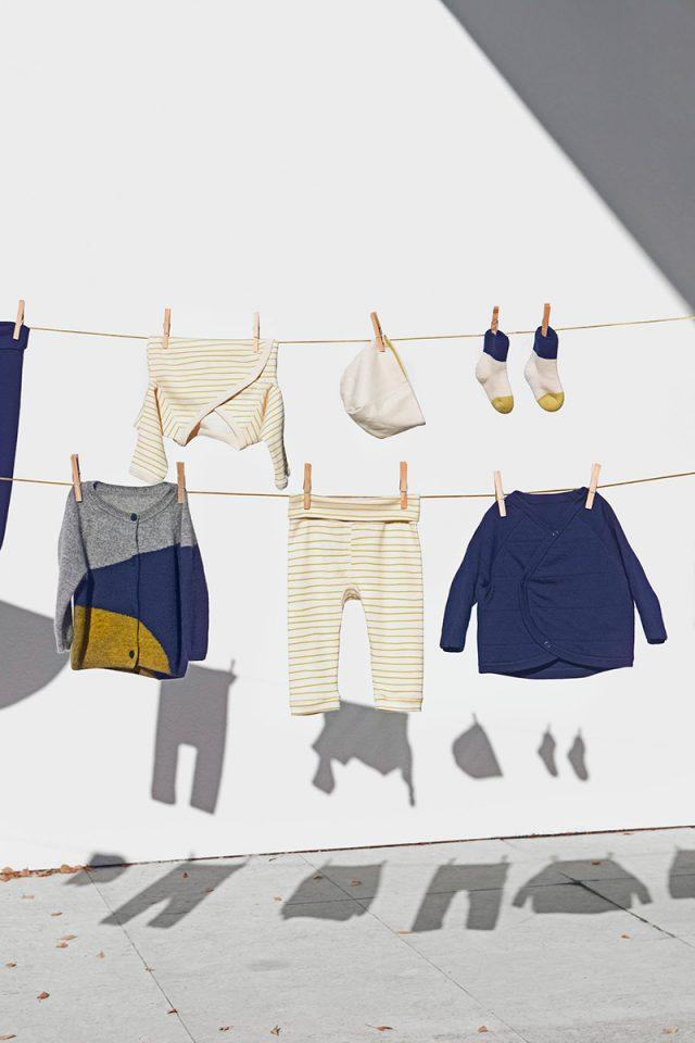 Cos lanza colección para recién nacidos