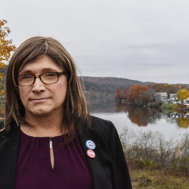 Christine Hallquist candidata demócrata EEUU