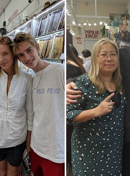 El oro que compran Beyoncé o Jude Law sale de este bazar chino