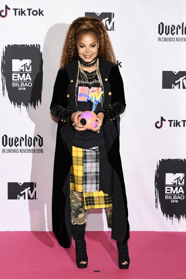 alfombra roja MTV EMA
