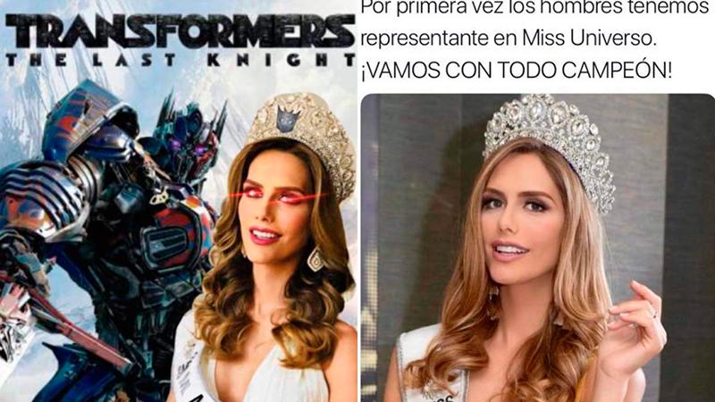 Angela Ponce en Miss Universo