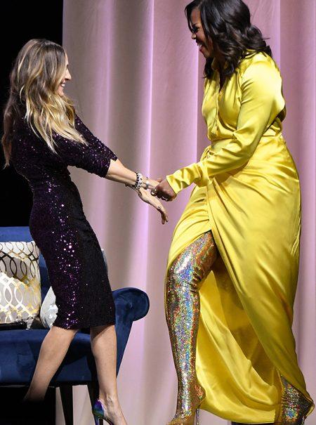 Este es el look más moderno de Michelle Obama hasta la fecha