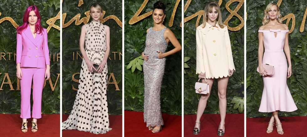 La alfombra roja de los British Fashion Awards