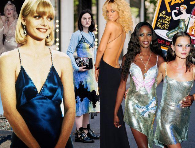 'Slip dress': por qué será el vestido más buscado de 2019
