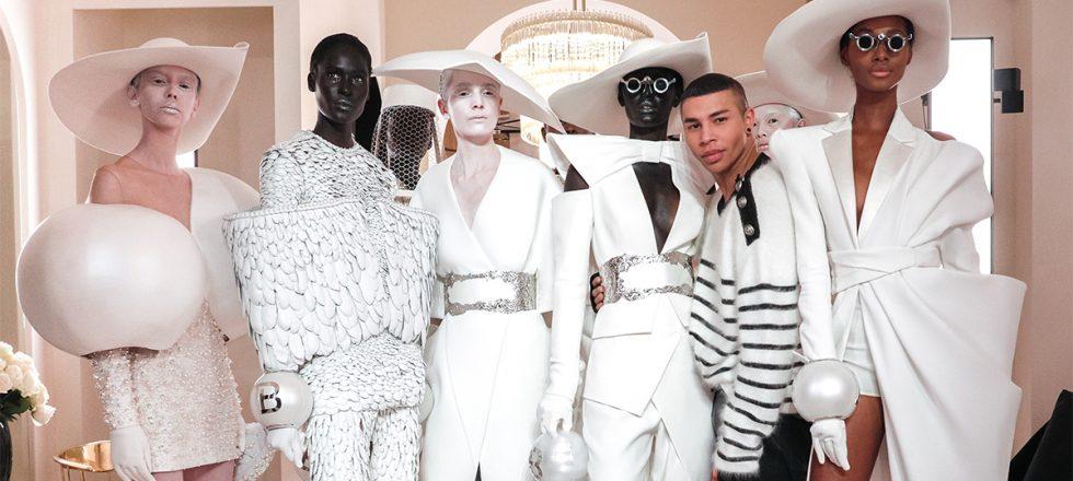 ¿Se pondría Kim Kardashian alguno de estos diseños? Balmain vuelve a la alta costura tras 16 años
