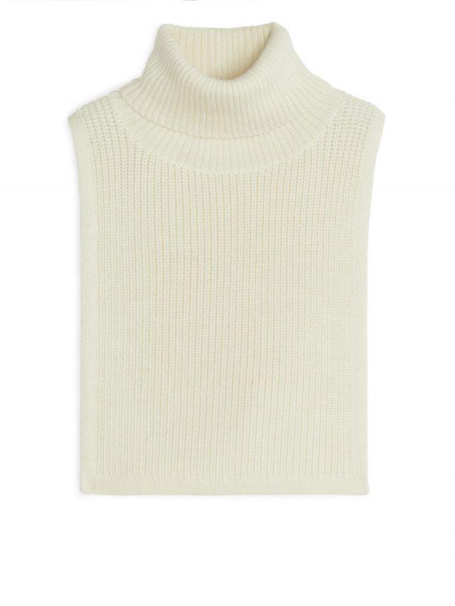 prendas blanco de invierno