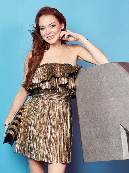Lindsay Lohan monta un chiringuito en la playa en la que sufrió maltratos