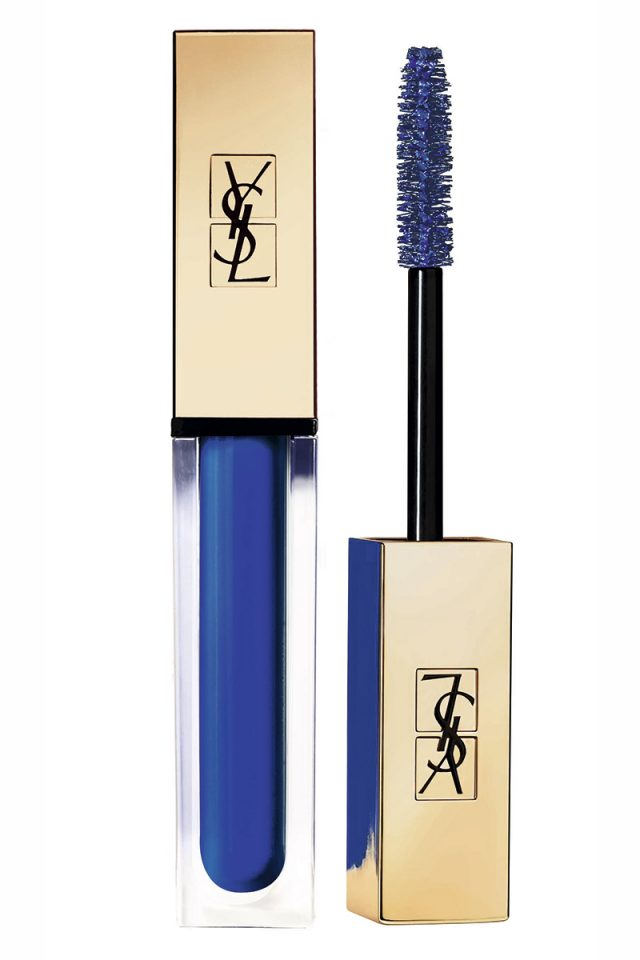 maquillaje azul blue monday