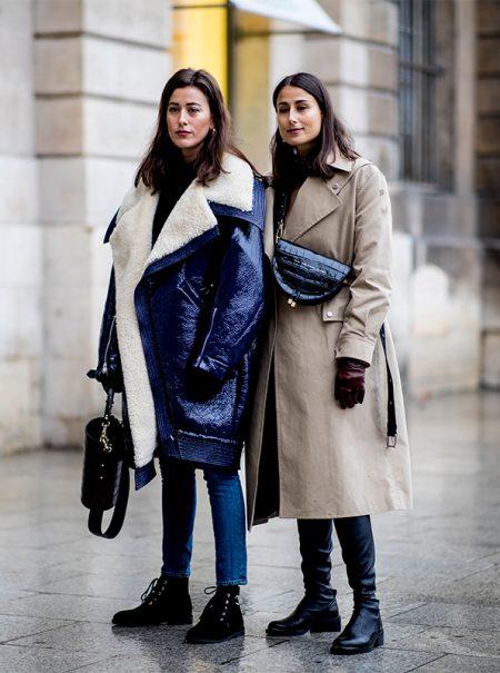 Cómo planta cara a la ola de frío la élite de la moda