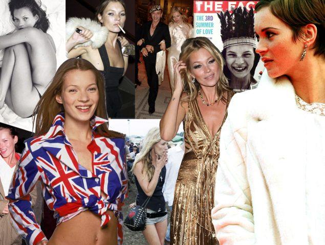 Las mejores fotos de una modelo icónica: Kate Moss cumple 45 años
