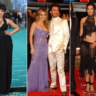 El paso del tiempo en la alfombra de los Premios Goya