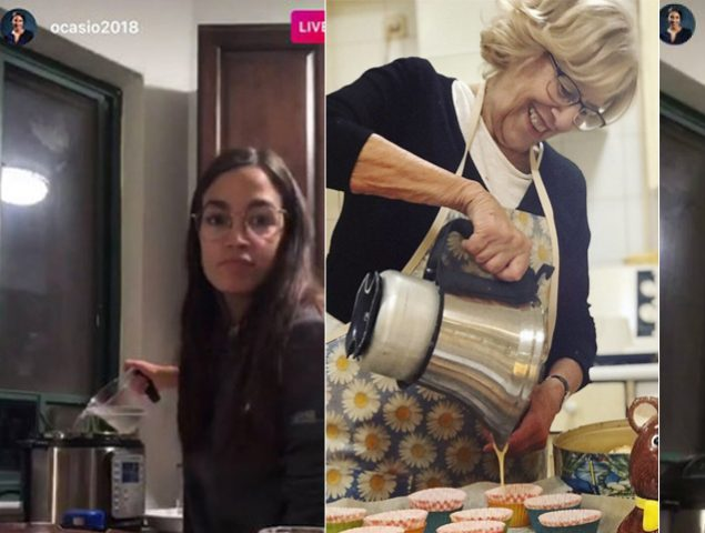 Magdalenas y frijoles: por qué las políticas predican cocinando en Instagram