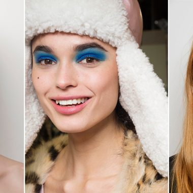 maquillaje azul blue monday