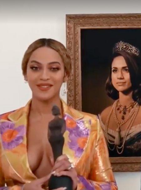 Por qué Meghan Markle se ha convertido en la particular 'Monalisa' de Beyoncé