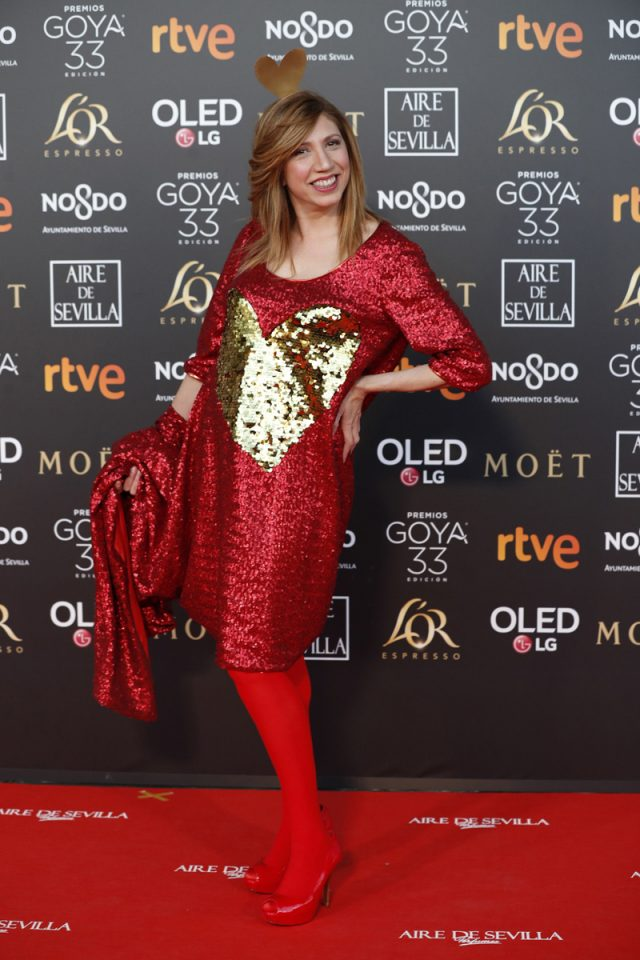 alfombra roja premios goya