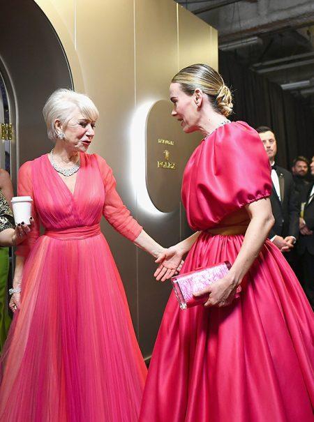 Las imágenes más bonitas de los Oscar están en el 'backstage'