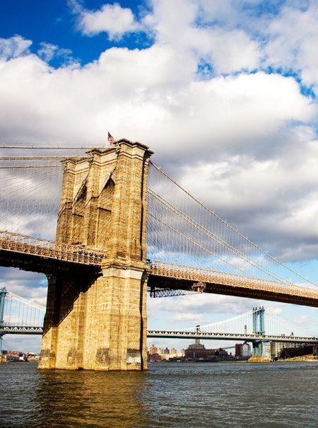 Si el Puente de Brooklyn existe, es por el empeño de una mujer