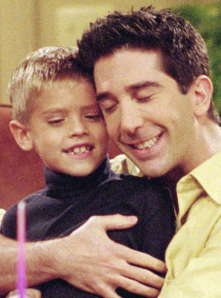 Cole Sprouse o el inesperado estrellato del hijo de Ross en 'Friends'