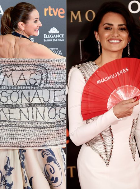 Todas las veces que la alfombra roja de los Premios Goya sirvió para protestar