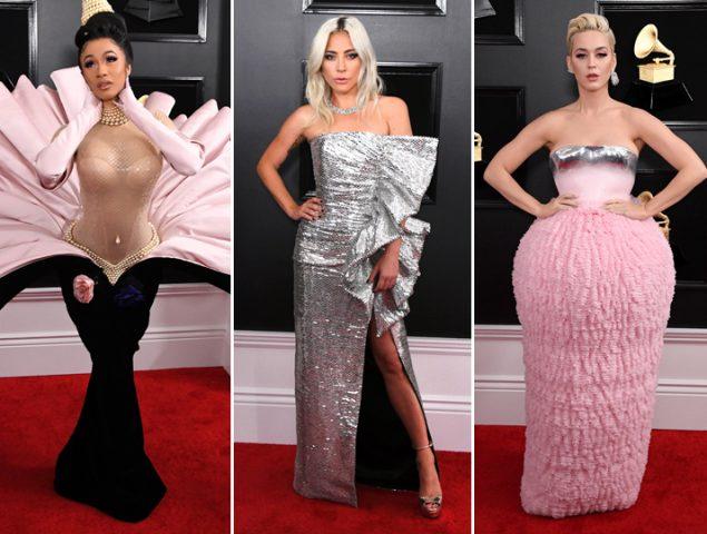 La alfombra roja de los Premios Grammy 2019