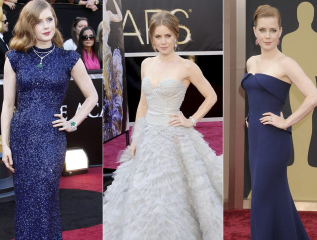 Amy Adams, 5 vestidos para perder un Oscar. ¿Romperá la maldición con su sexta nominación?