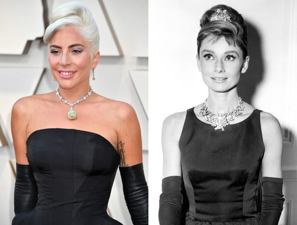 Lady Gaga y Audrey Hepburn