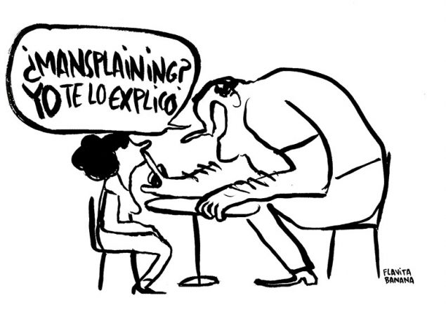 La viñeta de Flavita Banana: ¿'Mansplaining'? Yo te lo explico