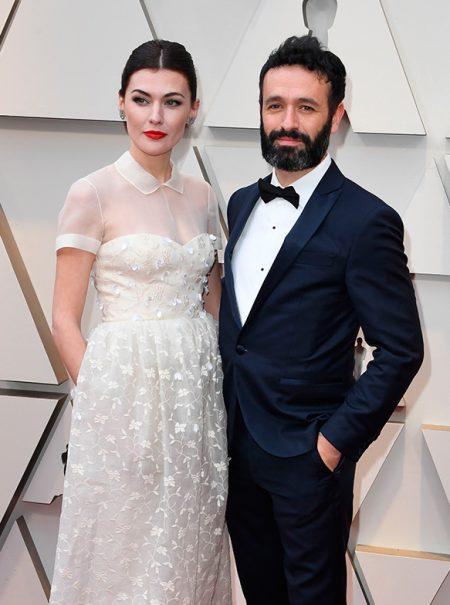Marta Nieto ha elegido un Delpozo para pisar la alfombra roja de los Oscar por una razón muy personal