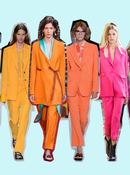 20 trajes para perderle miedo al color