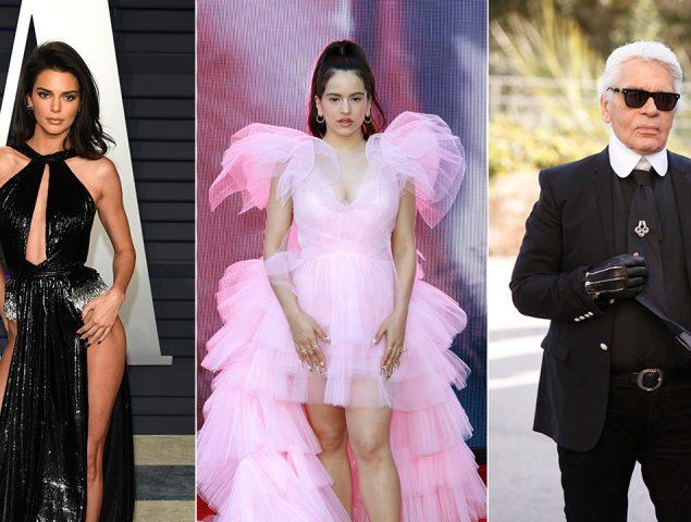 De Lagerfeld a Rosalía: 10 ideas para disfrazarte de personaje de moda (con sus trucos de maquillaje)