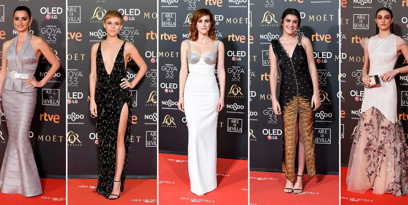 Ana Nominada Actriz Revelación Cine Porno la alfombra roja de los premios goya 2019