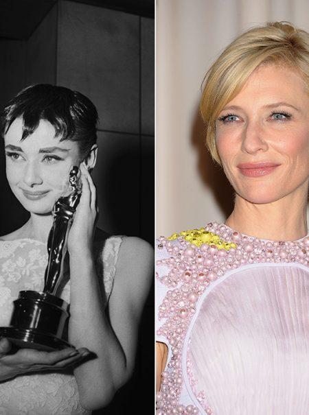 De Audrey Hepburn a Emma Stone: 40 peinados de Oscar que fueron un acierto