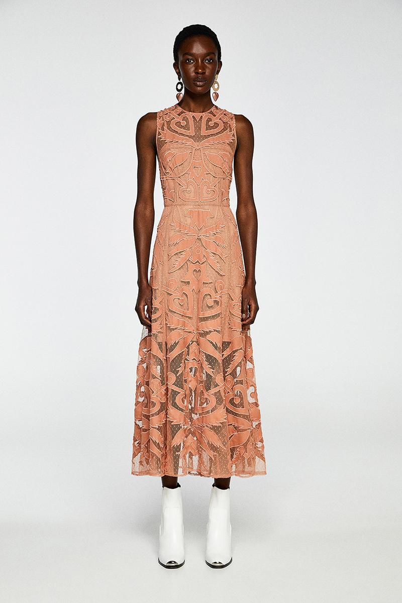 vestido invitada