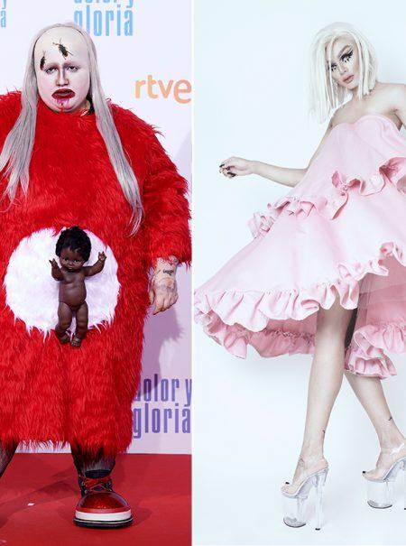 David Moss, el diseñador de los estilismos 'alienígenas' para la alfombra roja de Soy una pringada