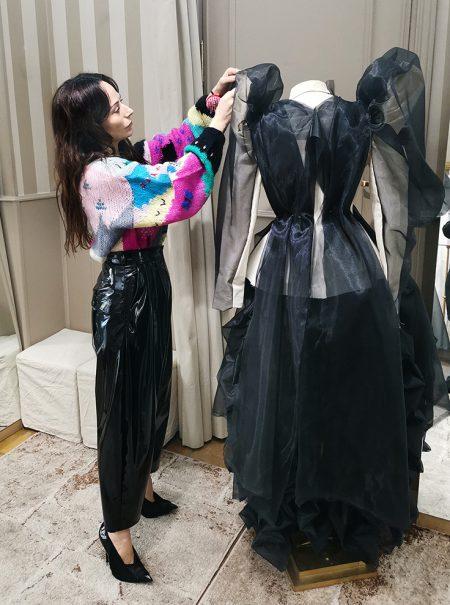 """María Escoté: """"Además de mi firma me pondría todo lo que hace Versace"""""""