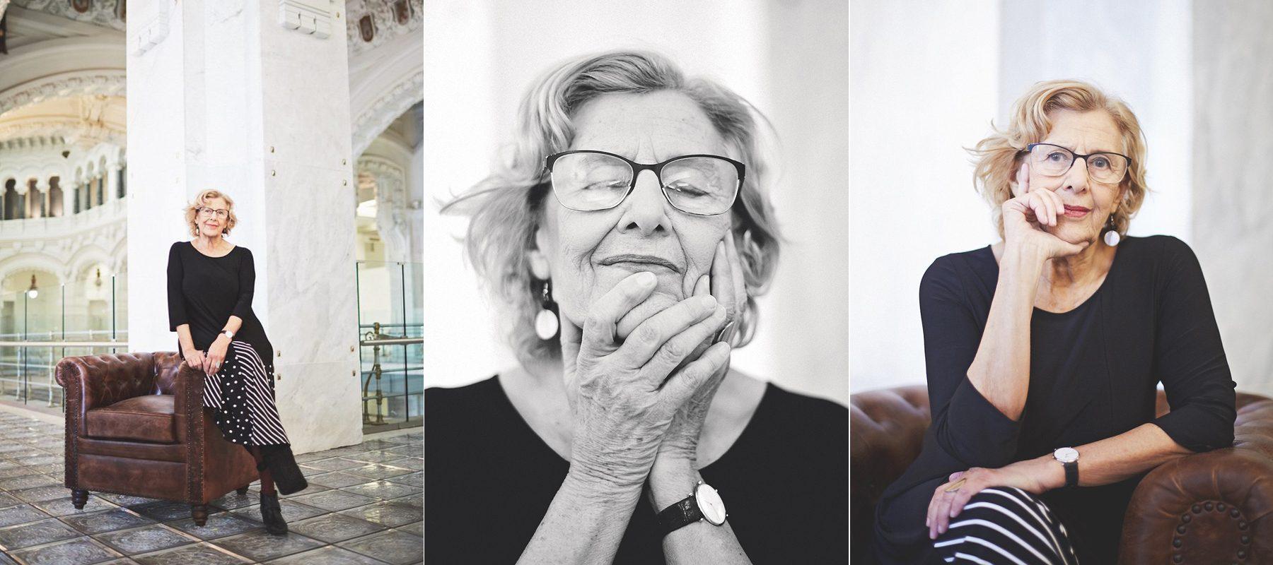 """Manuela Carmena: """"Me han llamado 'vieja roja'. Y sí, ser mayor es una ventaja extraordinaria"""""""