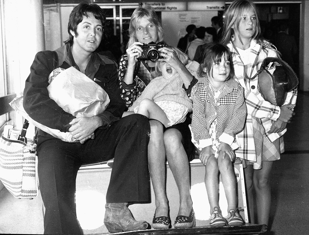 Paul y Linda McCartney
