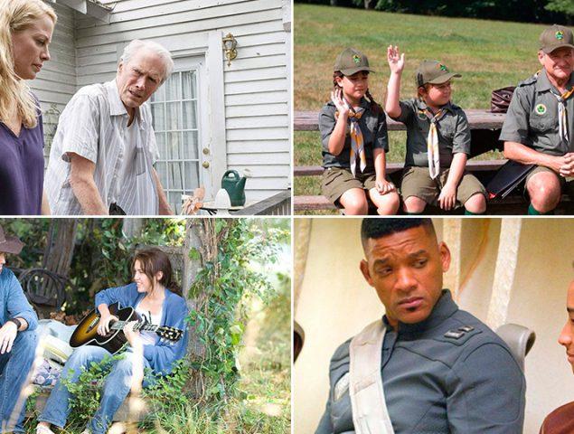 15 películas que vieron actuar juntos a padres e hijos