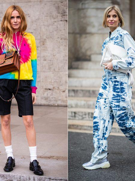 21 maneras (nada hippies) de apuntarse a la tendencia 'tie dye'