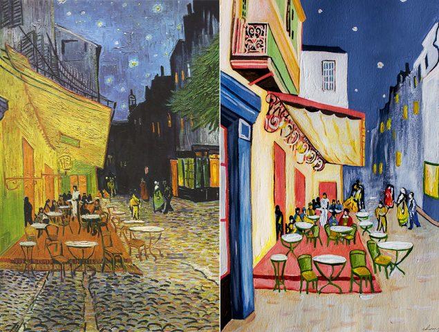 7 ilustradoras españolas reinterpretan los cuadros más famosos de Van Gogh