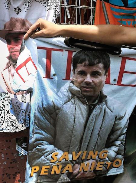 El Chapo quiere poner de moda la ropa de narcotraficante