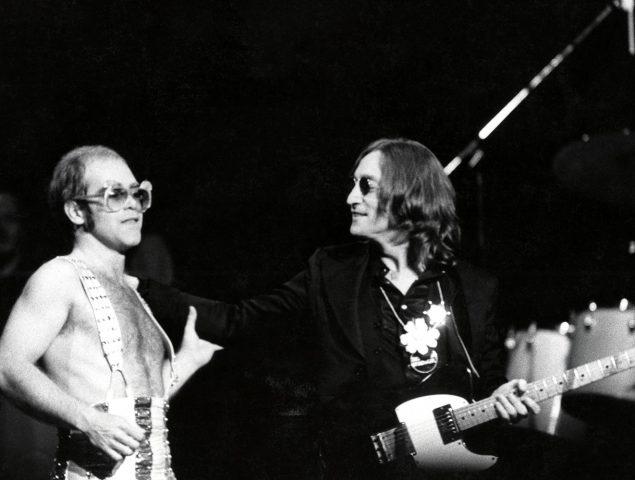 Resultado de imagen de elton john John Lennon