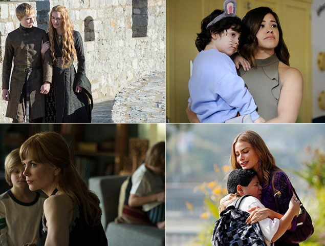 15 madres de series (de armas tomar)