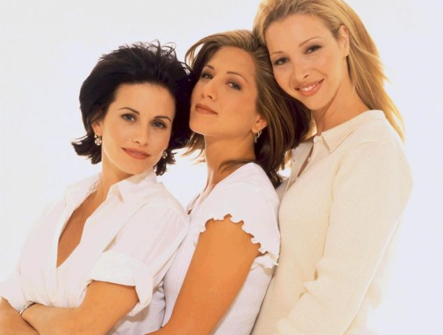 Lisa Kudrow adelgazó en 'Friends' por sentirse inferior a Courteney Cox y Jennifer Aniston
