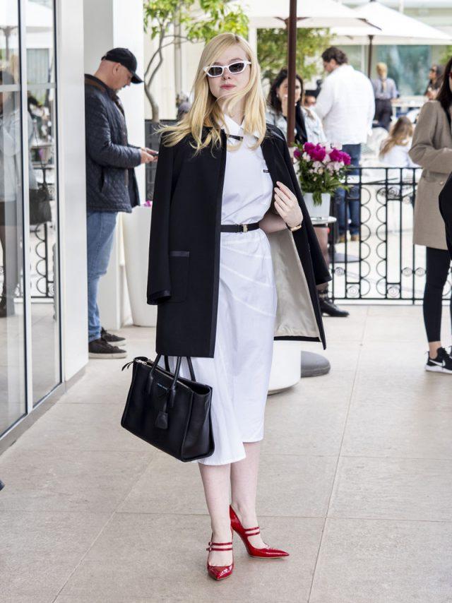 15 pruebas de que los looks de Elle Fanning en Cannes pasarán a los libros de historia
