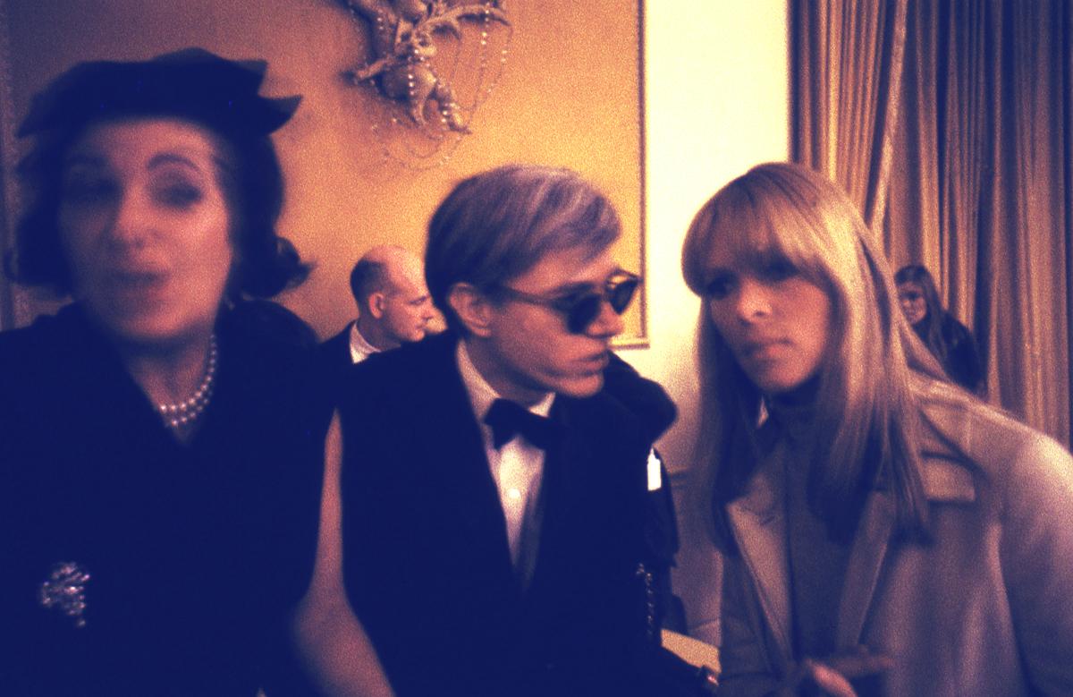 Nico, Lou Reed y Warhol