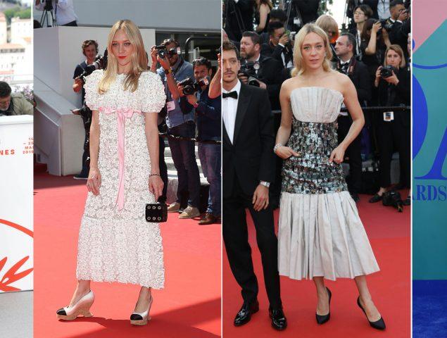 El alucinante vestido de Chloe Sevigny en Cannes (y otros 20 estilismos que demuestran sigue siendo una bestia 'fashion')