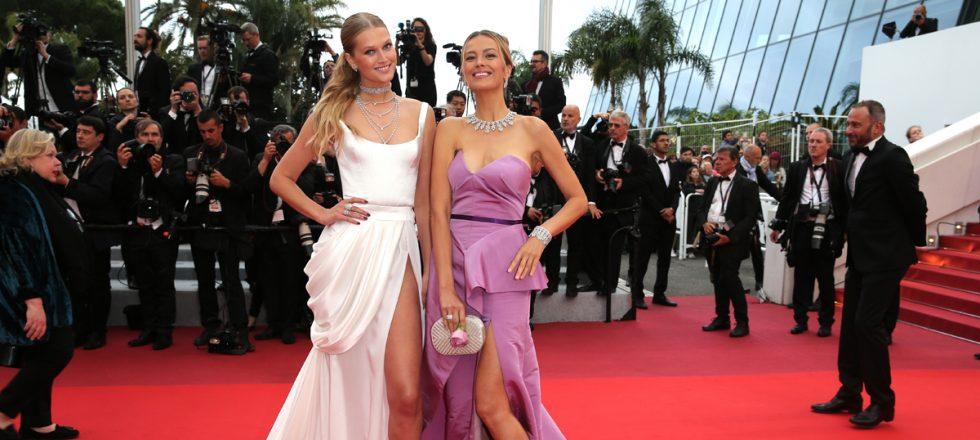 Las supermodelos asaltan la alfombra roja de Cannes