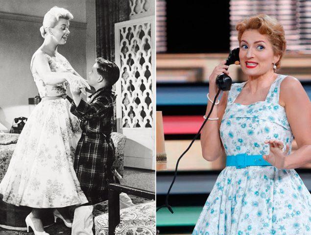 Silvia Abril y Doris Day