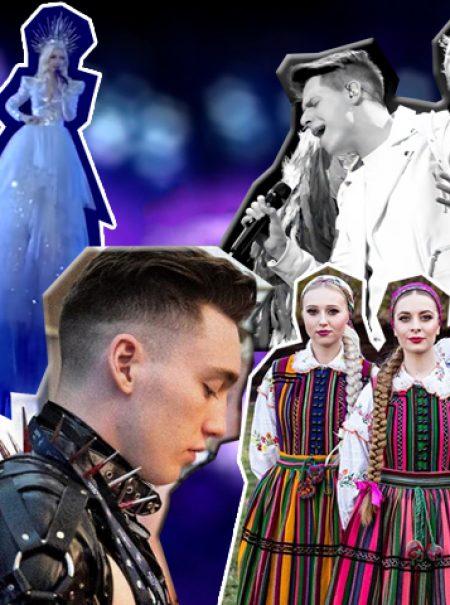 Sadomaso, dependientes de sex shop y patinadoras: lo más excéntrico de Eurovisión 2019